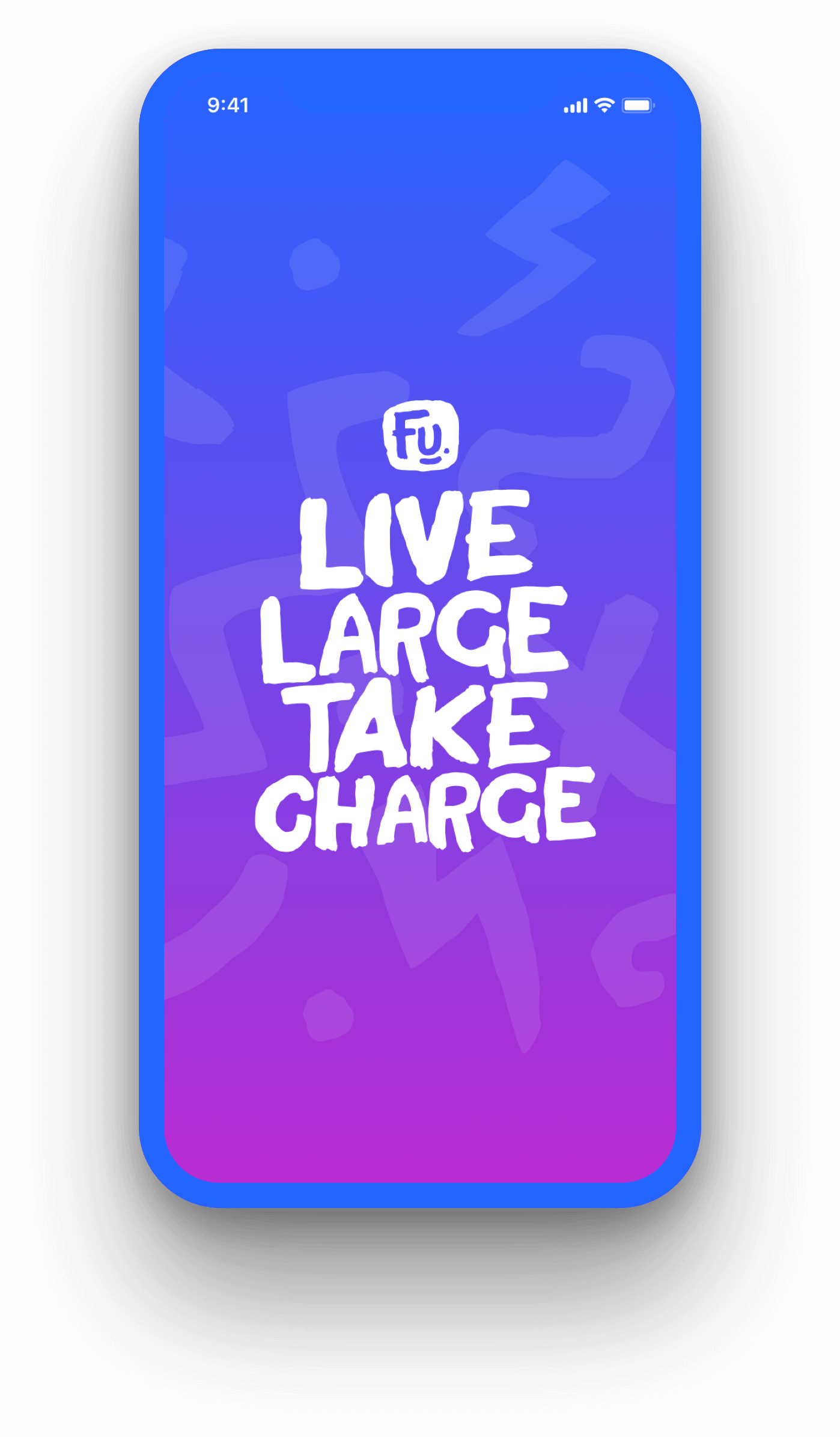 Live Large Take Charge